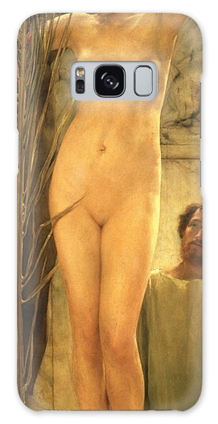 Figures Galaxy Case - The Sculptor's Model by Sir Lawrence Alma-Tadema