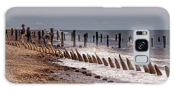 The Sea And Groynes Galaxy Case
