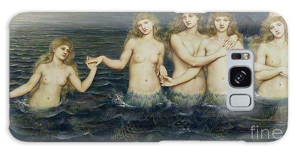 The Sea Maidens Galaxy Case by Evelyn De Morgan