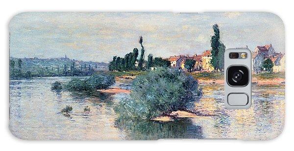Crt Galaxy Case - The Seine At Lavacourt by Claude Monet