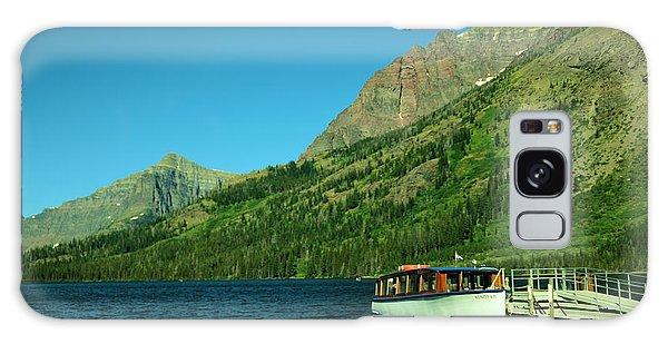 Swan Boats Galaxy Case - The Senopah Two Medicine Lake Glacier National Park by Jeff Swan