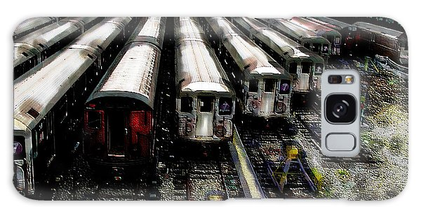 The Seven Train Yard Queens Ny Galaxy Case by Iowan Stone-Flowers