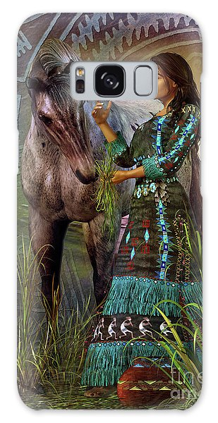The Horse Whisperer Galaxy Case