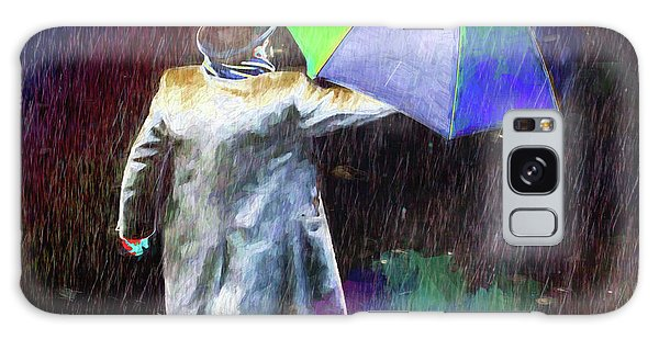 Galaxy Case featuring the photograph The Sheer Joy Of Puddles by LemonArt Photography