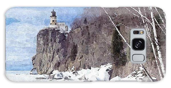 The Shoreline Lighthouse Galaxy Case