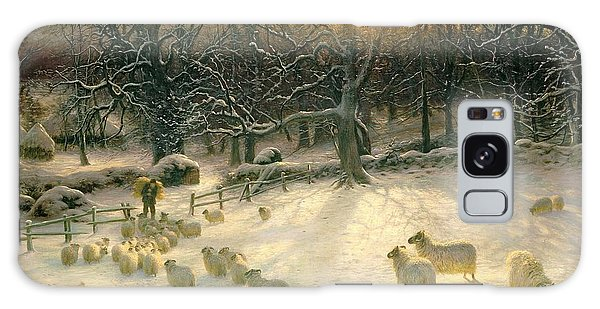 Stone Wall Galaxy Case - The Shortening Winters Day Is Near A Close by Joseph Farquharson