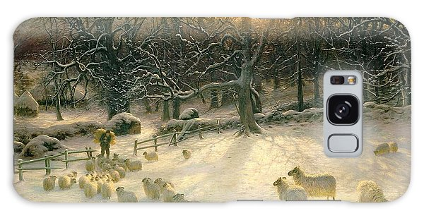 Joseph Galaxy Case - The Shortening Winters Day Is Near A Close by Joseph Farquharson