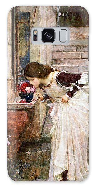 Rose Galaxy Case - The Shrine by John William Waterhouse