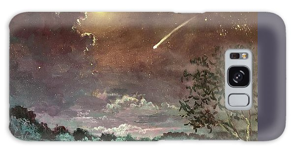 The Silence Of A Falling Star Galaxy Case