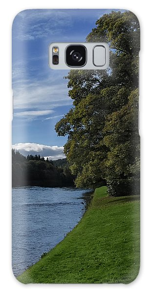 The Silvery Tay By Dunkeld Galaxy Case