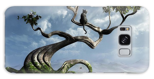 Horizontal Galaxy Case - The Sitting Tree by Cynthia Decker
