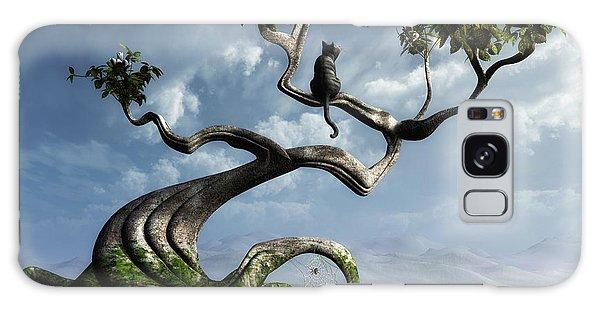 Horizontal Galaxy Case - The Sitting Tree by Cynthia Decker