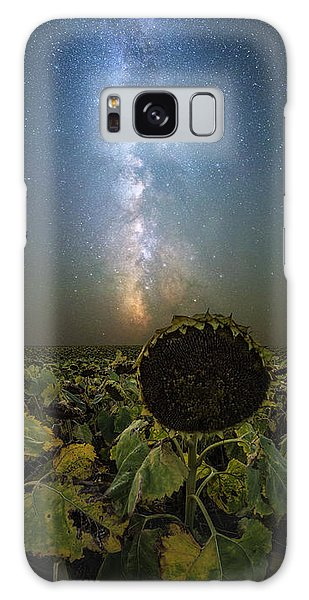 Galaxy Case featuring the photograph The Sky Above  by Aaron J Groen