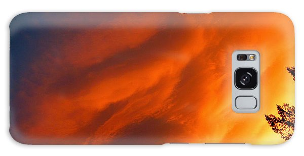 The Sky Is Burning Galaxy Case