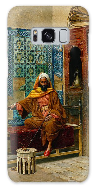 Islam Galaxy Case - The Smoker by Ludwig Deutsch