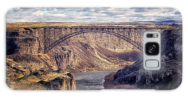 The Snake River At Twin Falls Idaho Galaxy Case by Michael Rogers