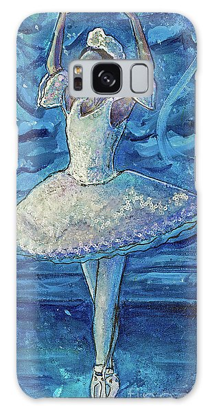 Galaxy Case featuring the painting The Snow Queen by TM Gand