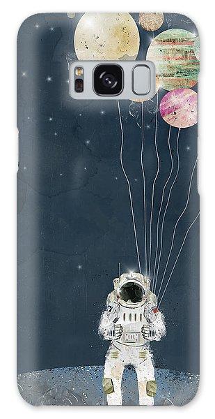 Astronaut Galaxy Case - The Solar Collector by Bri Buckley