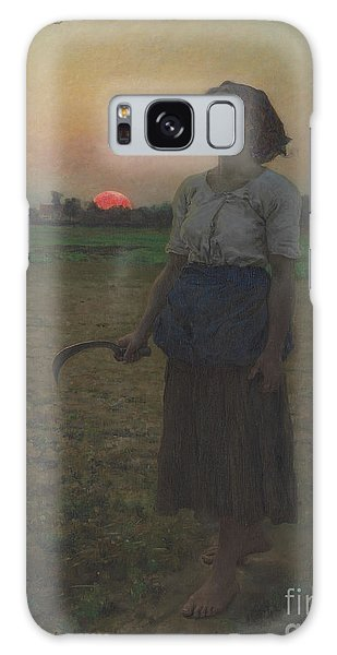 Portraiture Galaxy Case - The Song Of The Lark by Jules Breton