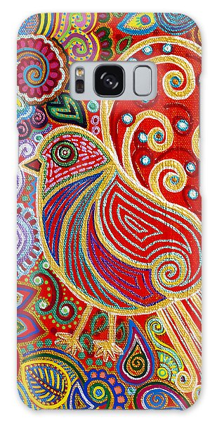 Madhubani Galaxy Case - The Songstress In The Spring by Anannya Chowdhury