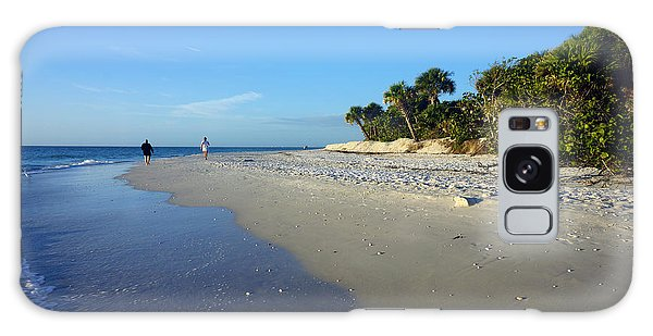 The South End Of Barefoot Beach In Naples, Fl Galaxy Case