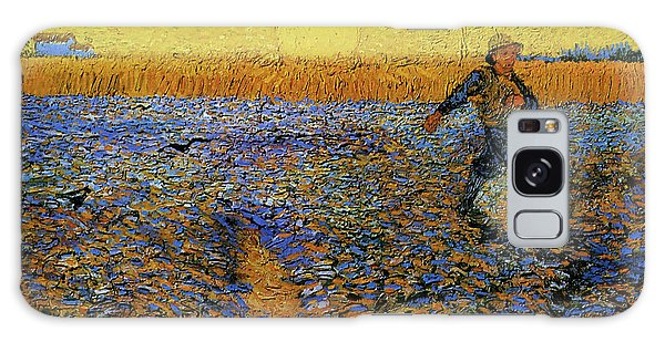 Galaxy Case featuring the painting The Sower by Van Gogh