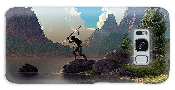 Sportsman Galaxy Case - The Spear Fisher by Daniel Eskridge