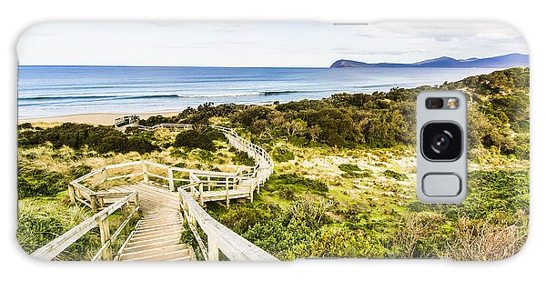 Ecosystem Galaxy Case - The Spit Lookout by Jorgo Photography - Wall Art Gallery