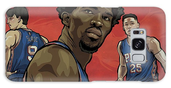 Sport Art Galaxy Case - The Squad by Miggs The Artist