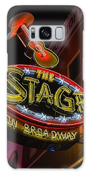 The Stage On Broadway Galaxy Case by Stephen Stookey