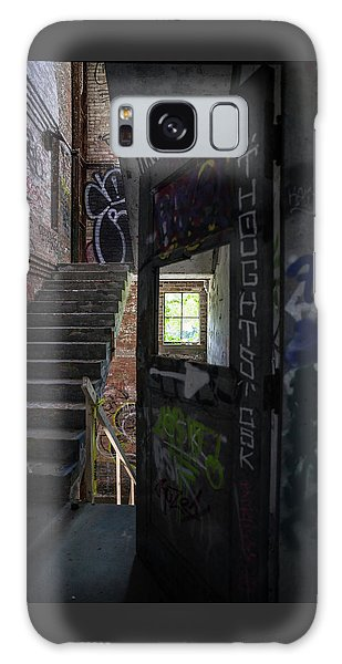 The Stairs Beyond The Door Galaxy Case