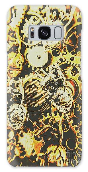Metal Galaxy Case - The Steampunk Heart Design by Jorgo Photography - Wall Art Gallery