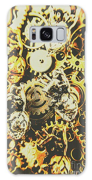 Metal Galaxy Case - The Steampunk Heart Design by Jorgo Photography - Wall Art Gallery