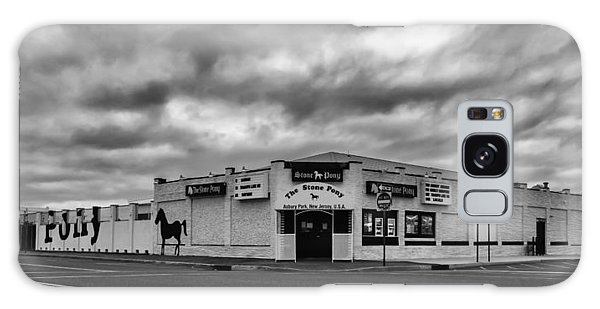 The Stone Pony Asbury Park New Jersey Black And White Galaxy Case