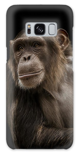 Chimpanzee Galaxy S8 Case - The Storyteller by Paul Neville