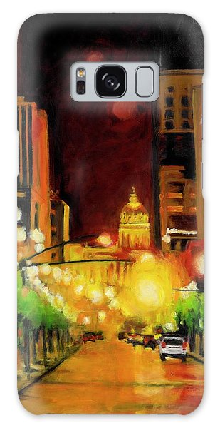 The Streets Run With Crimson And Gold Galaxy Case
