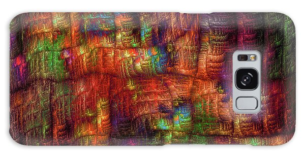 The Strong Fabric Of Dreams Galaxy Case by Menega Sabidussi