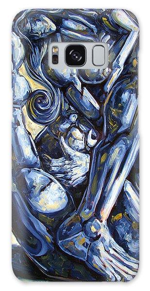 Figurative Galaxy Case - The Struggle by Darwin Leon