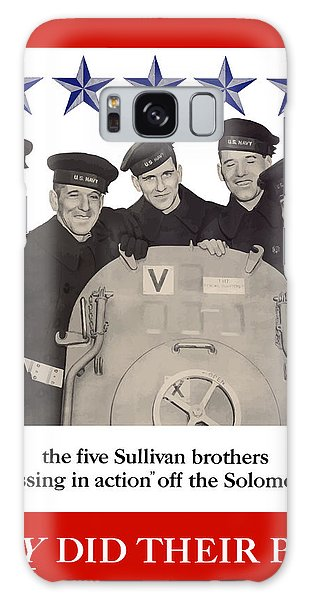 Brothers Galaxy Case - The Sullivan Brothers - They Did Their Part by War Is Hell Store