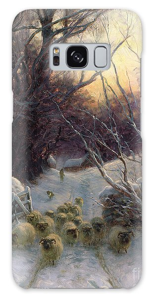 Joseph Galaxy Case - The Sun Had Closed The Winter Day by Joseph Farquharson