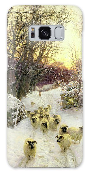 Joseph Galaxy Case - The Sun Had Closed The Winter's Day  by Joseph Farquharson