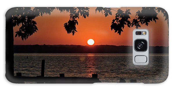 Galaxy Case featuring the photograph The Sun Rises Over The Bay by Mark Dodd
