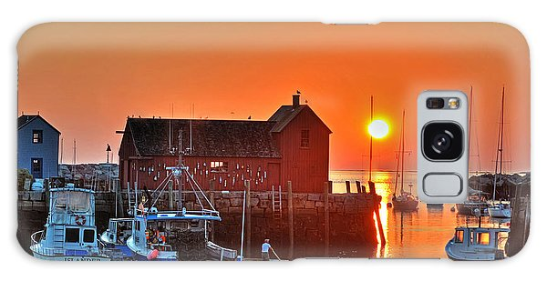 The Sun Rising By Motif Number 1 In Rockport Ma Bearskin Neck Galaxy Case