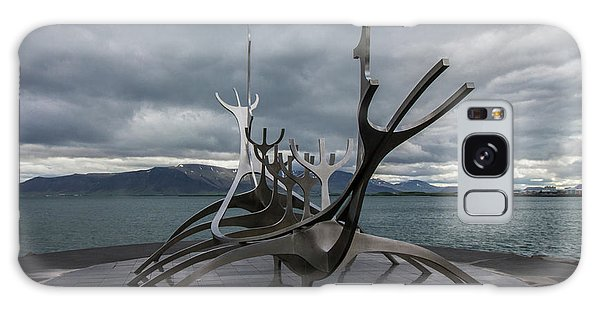 The Sun Voyager, Reykjavik, Iceland Galaxy Case
