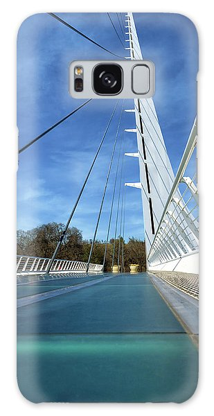 Galaxy Case featuring the photograph The Sundial Bridge by James Eddy