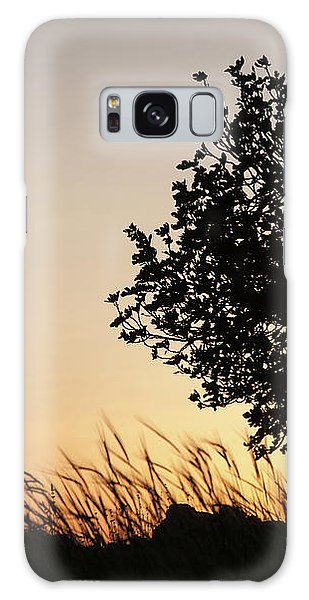 Sunset On The Hill Galaxy Case
