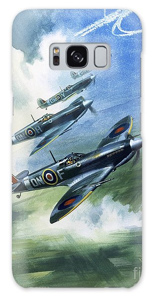 The Supermarine Spitfire Mark Ix Galaxy Case