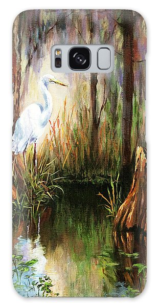 Herons Galaxy Case - The Surveyor by Dianne Parks