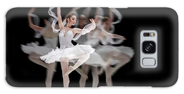 Galaxy Case featuring the photograph The Swan Ballet Dancer by Dimitar Hristov