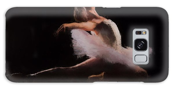 Galaxy Case featuring the painting The Swan  by Rosario Piazza
